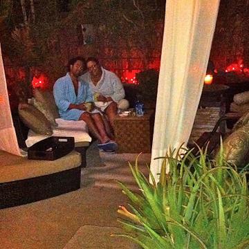 Creative Chakra Spa Fireside Couples Spa Package
